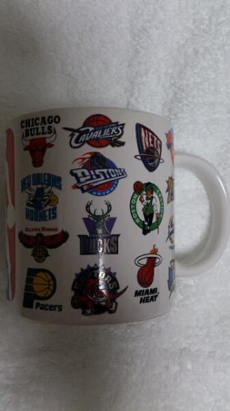 新品 NBA マグカップ KNICKS LAKERS CELTICS  グッズの画像