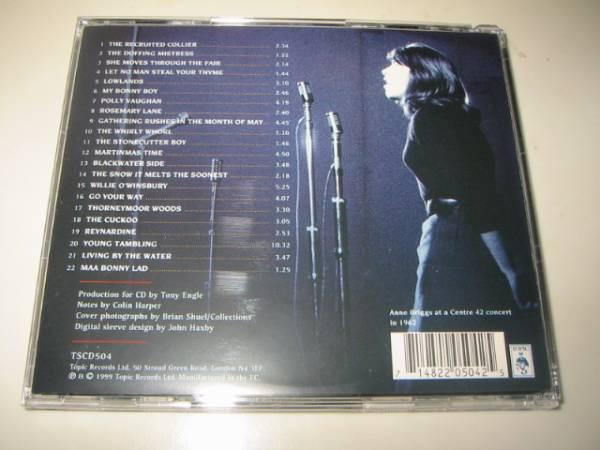 ★ANNE BRIGGS(アンブリッグス)【A COLLECTION(コレクション)】CD[国内盤]・・・ブラックウォーター・サイド/Blackwater Side/Lowlands_画像3