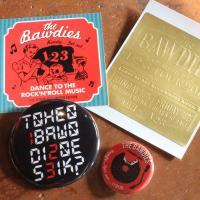 THE BAWDIES ボゥディーズ 新品 2013 限定 バッチ ステッカー