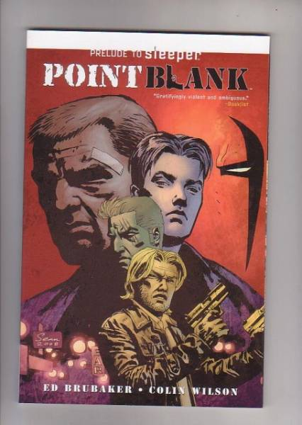 Pb Point Blank Prelude To Sleeper Grifter Graphic Novel