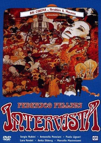 *フェデリコ・フェリーニ監督「インテルビスタ」1987・イタリア/アニタ・エクバーグ マルチェロ・マストロヤンニ/輸入DVD PAL盤 グッズの画像