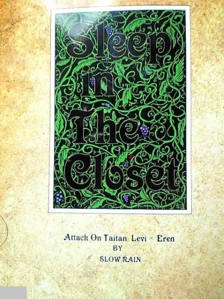 進撃の巨人同人誌★リヴァエレ長編小説★スロウレイン「Sleep in the~」