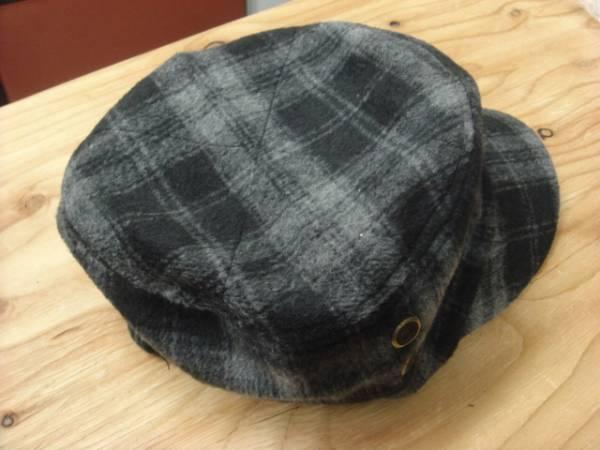1011新品ウールWOOLブロック チェックWORKワークキャップ帽子レイルロードCAPドゴール_画像3