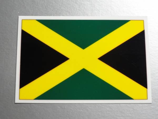 1■ジャマイカ国旗ステッカー 1枚即買シール■レゲエ NA