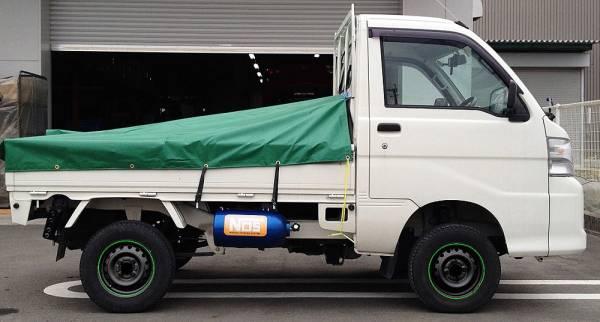 SILKROAD 軽トラック用 リフトアップサスペンションキット(4WD)