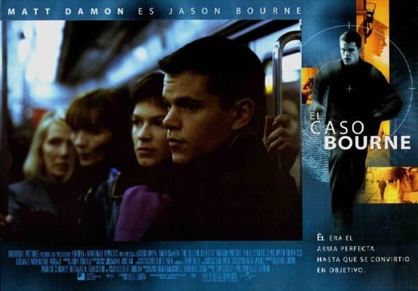 2002年 ボーン・アイデンティティー ジェイソン・ボーン /マット・デイモン スペイン ロビーカード 3枚付き