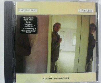 【廃盤CD】AOR♪リヴィングストン・テイラー/三面鏡 _TOTO ジェフ・ポーカロ 送料\180_廃盤 盤面良好