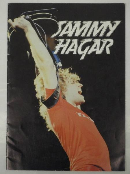 BOOK/SAMMY HAGAR/ UK TOUR 1980 コンサートパンフ (d958)