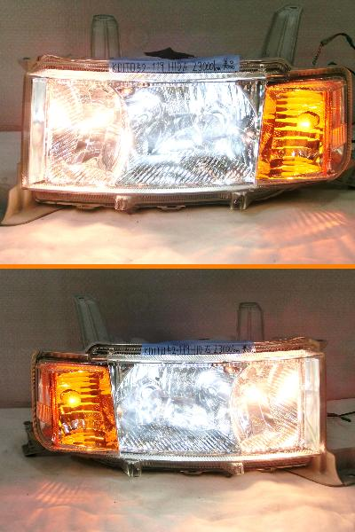 ★NCP30 bB 後期 純正 HID ヘッドライト 左右 改造キット 美品 R_画像3