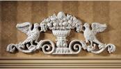 イギリス・ビクトリア朝 装飾壁掛け鉄製古典デザインインテリア