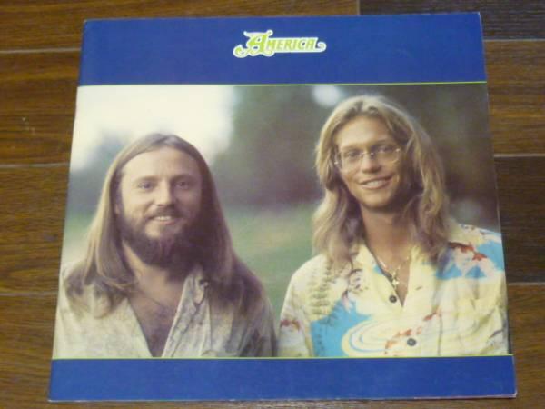 America (アメリカ) 1977/ヴィンテージツアーパンフレット