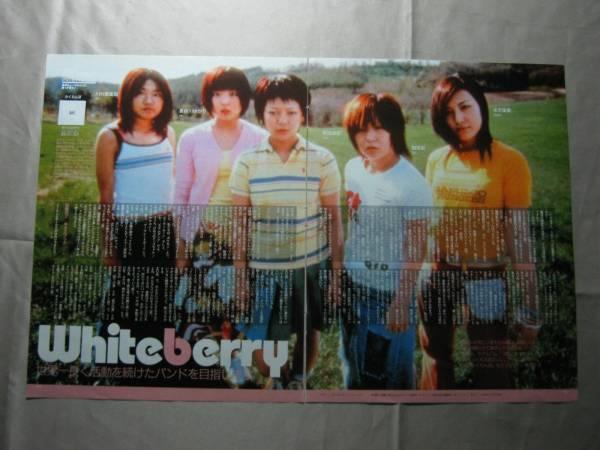 '01【世界一長寿のバンドを目指す】 whiteberry ♯