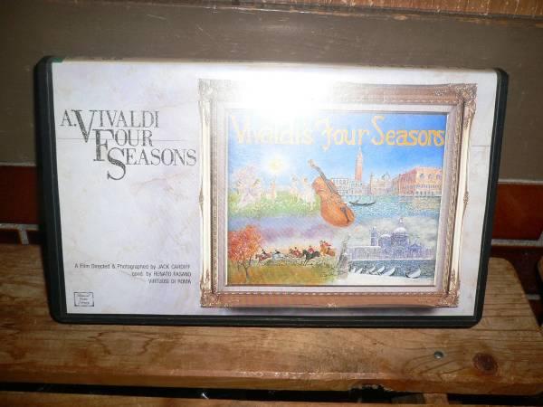 ビデオ ヴィヴァルディ 四季 ローマ合唱団 見事な映像美_画像1