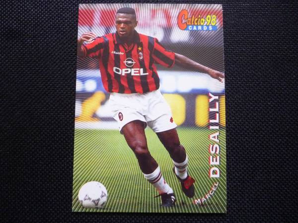 calcio カルチョ 1998年 095 マルセル デサイー ヤフオク