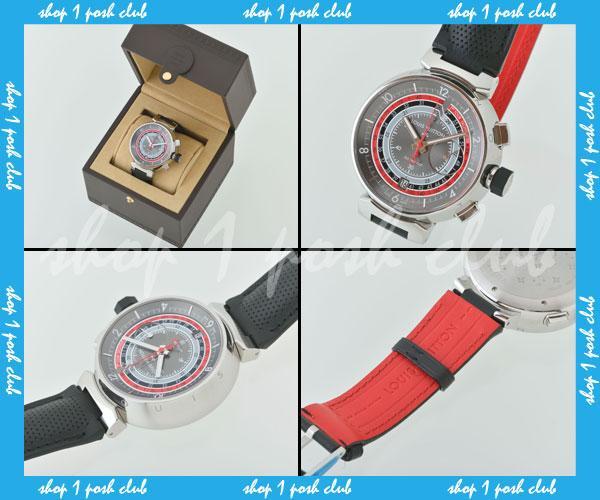 ルイ・ヴィトン【Q102C0-005】腕時計タンブール888本限定グレ-2_画像2