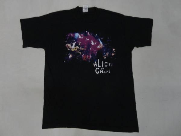 アリスインチェインズALICE IN CHAINSTシャツ【L】/オルタナ