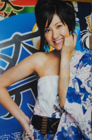 AKB48 SKE48 宮澤佐江 クリアファイル 限定 総選挙 生写真