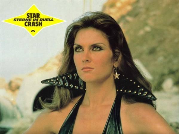 1978映画 スタークラッシュ キャロライン・マンローロビーカード 3枚組