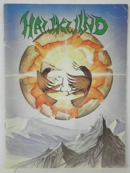 BOOK/HAWKWIND/ EARTH RITUAL TOUR, UKツアーパンフ (i181)