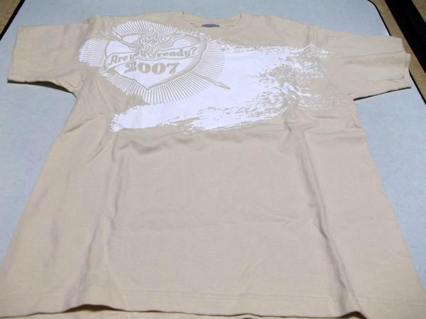 ◆ラルクアンシエル★2007Tour【Tシャツ♪美品】ツアーバッグ付