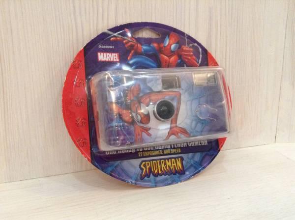 スパイダーマン ☆ SPIDER-MAN ☆ 35mm カメラ ☆ グッズの画像