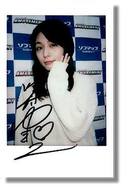 川村ゆきえ 直筆サイン入りチェキ131201 検:生写真 ポラ DVD