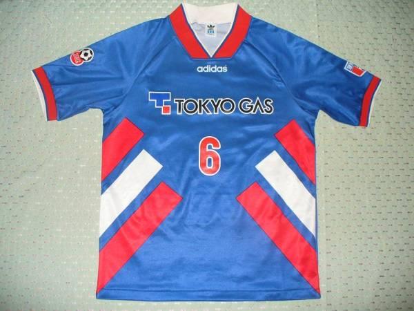 [値下交渉] 1996年/JFL 東京ガス 選手実使用 オーダーメイドタグ付き 検)FC東京 アマラオ