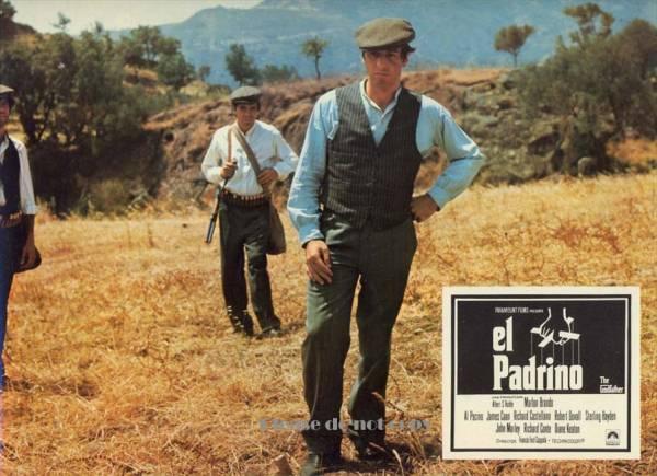 1972年映画 フランシス・フォード・コッポラ ゴッドファーザー The Godfather ロビーカード 3枚組み