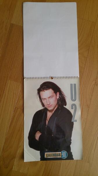 U2 1990年カレンダー