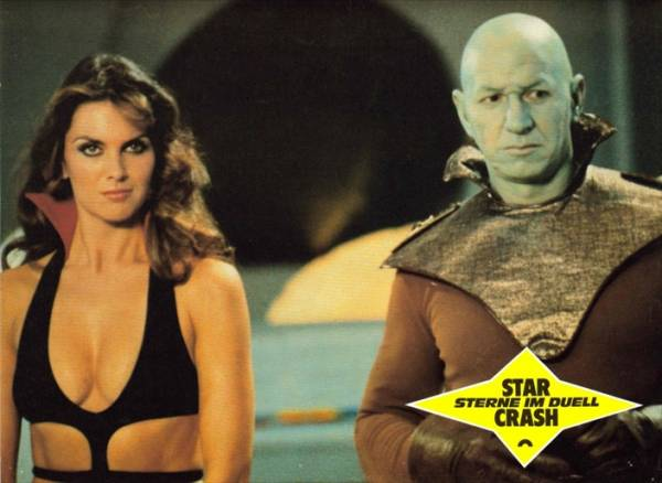 1978映画 スタークラッシュ キャロライン・マンロー/ステラ・スター 国内劇場未公開作品 ロビーカード3枚組