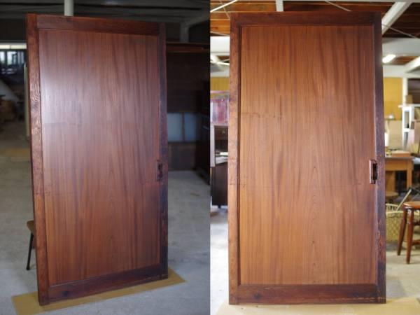 重厚な欅の蔵戸/一枚板/テーブル天板▼アンティーク建具古民家