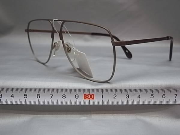 64□-5/めがね メガネ眼鏡 フレーム 日本製 ロウデンストック_画像2
