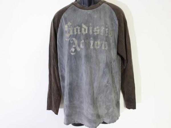 サディスティックアクション SADISTIC ACTION メンズ長袖Tシャツ Lサイズ 新品_画像1