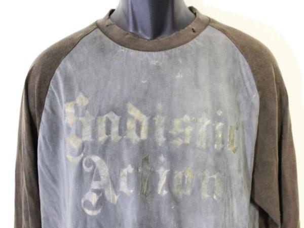 サディスティックアクション SADISTIC ACTION メンズ長袖Tシャツ Lサイズ 新品_画像2