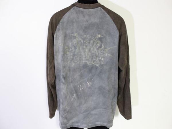 サディスティックアクション SADISTIC ACTION メンズ長袖Tシャツ Lサイズ 新品_画像3