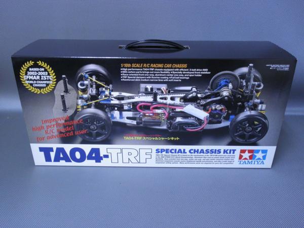 タミヤ製(ITEM 49278) 1/10電動ツーリングカー4WD TA04-TRF スペシャルシャーシキット 未組み立て品
