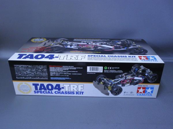 タミヤ製(ITEM 49278) 1/10電動ツーリングカー4WD TA04-TRF スペシャルシャーシキット 未組み立て品_画像2