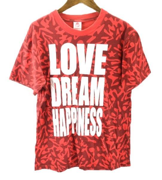 メール便可 EXILE PERFECT YEAR2008 LOVE DREAM HAPPINESS 半袖 Tシャツ S 赤 激安 ★【BIG2nd大阪店】【170501】【メンズ】mts3506 ライブグッズの画像