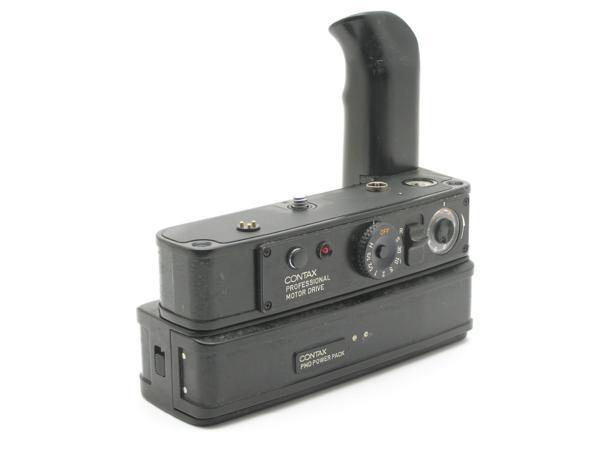 ★ハロ-カメラ★5729 CONTAX RTS用 PROFESSIONAL MOTOR DRIVE(PMD) + PMD POWER PACK付き 難有り動作品_画像4