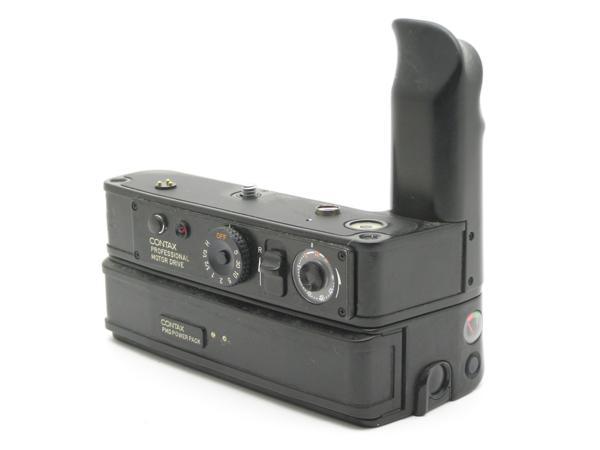 ★ハロ-カメラ★5729 CONTAX RTS用 PROFESSIONAL MOTOR DRIVE(PMD) + PMD POWER PACK付き 難有り動作品_画像5