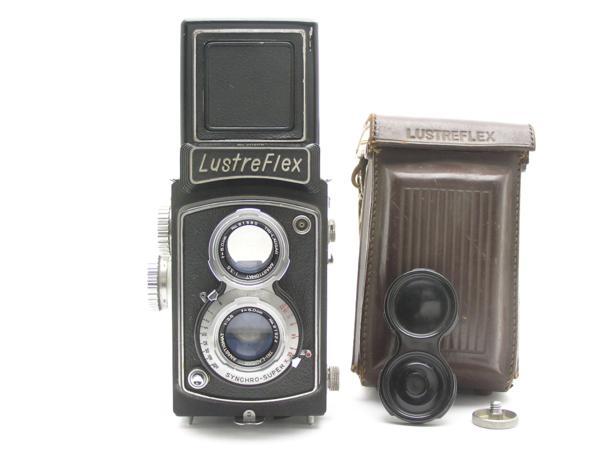 ★ハロ-カメラ★5850 LustreFlex (TRI-LAUSAR ANASTIGMAT 8.0cm F3.5) 動作品 難有り ジャンク 修理要