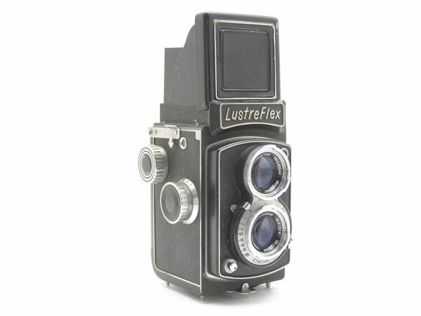 ★ハロ-カメラ★5850 LustreFlex (TRI-LAUSAR ANASTIGMAT 8.0cm F3.5) 動作品 難有り ジャンク 修理要_画像2