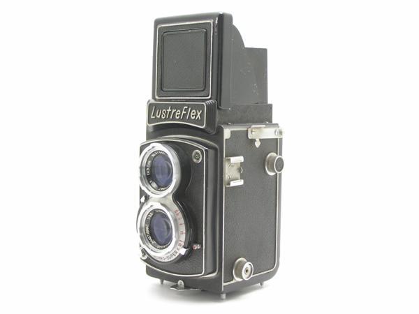 ★ハロ-カメラ★5850 LustreFlex (TRI-LAUSAR ANASTIGMAT 8.0cm F3.5) 動作品 難有り ジャンク 修理要_画像3