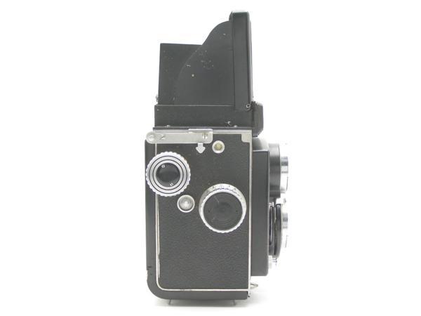 ★ハロ-カメラ★5850 LustreFlex (TRI-LAUSAR ANASTIGMAT 8.0cm F3.5) 動作品 難有り ジャンク 修理要_画像4