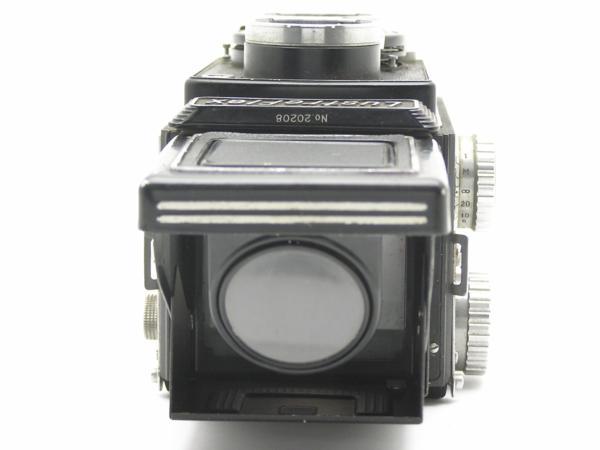 ★ハロ-カメラ★5850 LustreFlex (TRI-LAUSAR ANASTIGMAT 8.0cm F3.5) 動作品 難有り ジャンク 修理要_画像7
