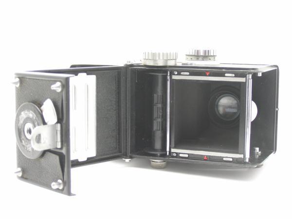 ★ハロ-カメラ★5850 LustreFlex (TRI-LAUSAR ANASTIGMAT 8.0cm F3.5) 動作品 難有り ジャンク 修理要_画像10
