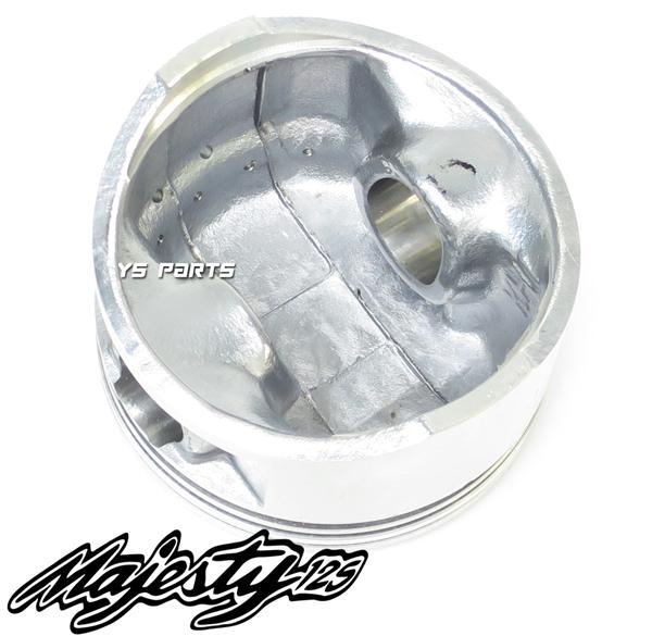 [高品質]マジェスティ125[キャブ車/Fi車共にOK] 61mmボアアップピストン【ピストンリング+ピストンピン+サークリップ付】_画像5