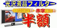極厚46インチ液晶保護フィルター★猫もwiiリモコンも強力カ