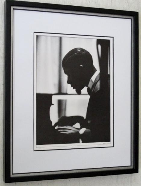 ボビー・ティモンズ/アートピクチャー額装/Bobby Timmons/Framed Funky Jazz Piano/ファンキー・ジャズ・ピアノ