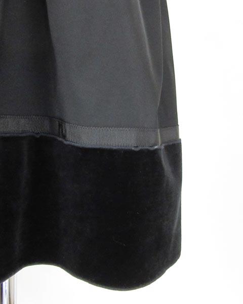 フォクシーニューヨーク FOXEY 黒 フレアー スカート 38_画像6